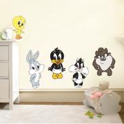 Αυτοκόλλητο-τοίχου-Looney-tunes-σετ-min